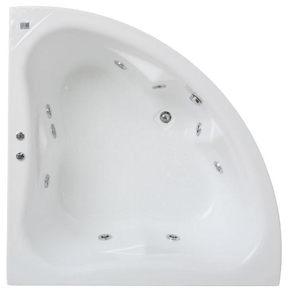 Фэнтези 150x150 система 1Ванны<br>В комплектацию ванны Bach Фэнтези входит слив-перелив, гидромассаж на 6 форсунок с двигателем 900Вт.<br>