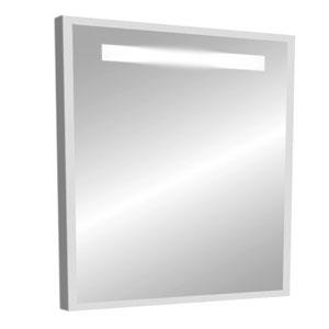 Модерн 70 СероеМебель для ванной<br>Зеркало в плоской раме. Оборудовано встроенным светильником.<br>