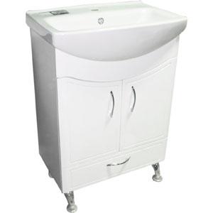 Севиль 60 БелаМебель дл ванной<br>Тумба Руно Севиль. Имеет : 2 дверцы, 1 щик. Раковина Cersania приобретаетс отдельно.<br>
