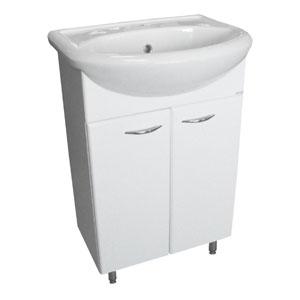 Уют 50 БелаяМебель для ванной<br>Тумба Руно Уют. Цена указана за тумбу. Раковина Уют приобретается отдельно.<br>