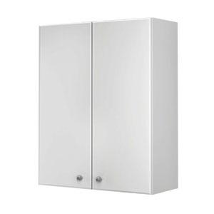 Кредо 60 БелыйМебель для ванной<br>Шкаф навесной Руно Кредо. Имеет закрытое отделение, без зеркала.<br>