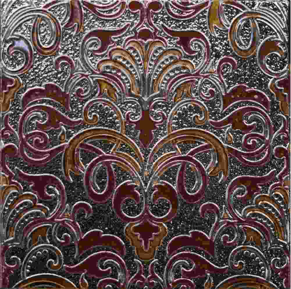 Керамический декор Absolut Keramika Damasco/Tripoli Composicion Damasco Granate 30х30 см стоимость