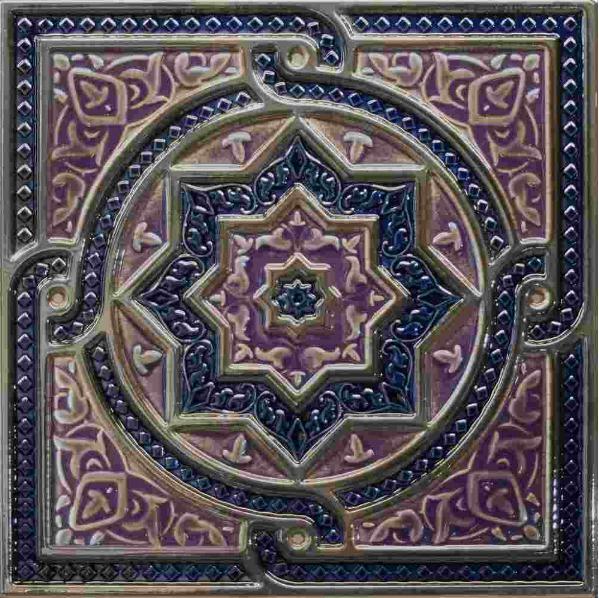 Керамический декор Absolut Keramika Damasco/Tripoli Composicion Tripoli Cobalto 30х30 см стоимость