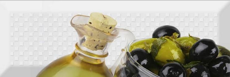 Керамический декор Absolut Keramika Olives Fluor Decor Olives 03 Fluor 10х30 см