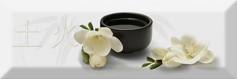 Керамический декор Absolut Keramika Japan Tea Decor Japan Tea 04 С 10х30 см цена 2017