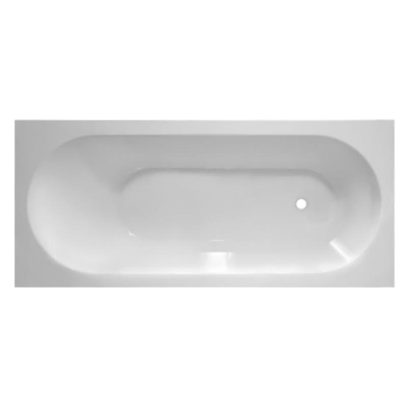 Ванна из искусственного камня Эстет Честер 170x75 Белая ванна из искусственного камня jacob delafon elite 170x75 с щелевидным переливом e6d031 00 без гидромассажа