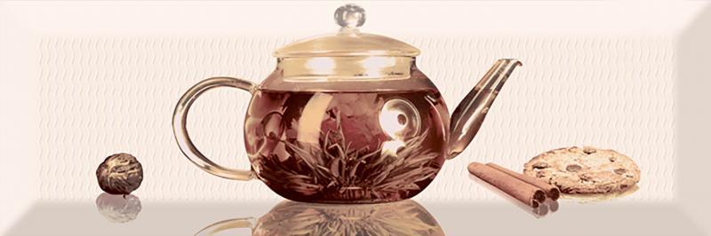 Керамический декор Absolut Keramika Tea 01 Decor A 10х30 см керамический декор absolut keramika tea 02 fosker decor с 10х30 см