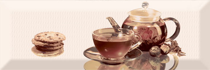 Керамический декор Absolut Keramika Tea 01 Decor В 10х30 см керамический декор absolut keramika tea 02 fosker decor с 10х30 см