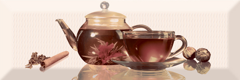 Керамический декор Absolut Keramika Tea 01 Decor С 10х30 см керамический декор absolut keramika tea 02 fosker decor с 10х30 см