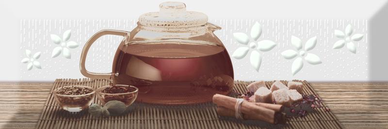 Керамический декор Absolut Keramika Tea 02 Fosker Decor В 10х30 см стоимость