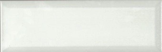Керамическая плитка Absolut Keramika Tea 03 Monocolor Biselado Brillo Blanco настенная 10х30