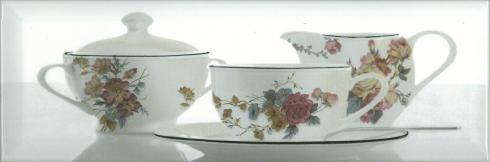 Керамический декор Absolut Keramika Tea 03 Decor White A 10х30 см керамический декор ape allegra decor link white 31 6x90см