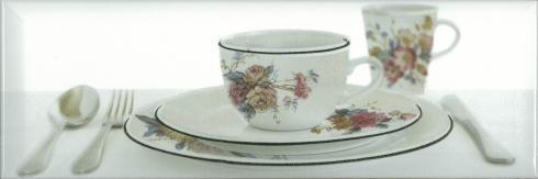 Керамический декор Absolut Keramika Tea 03 Decor White В 10х30 см декор absolute keramika gold crema 03 decor 15x45