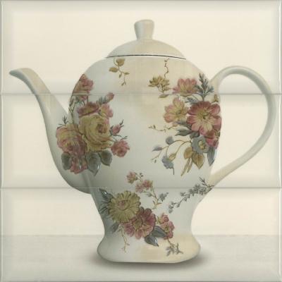 Керамическое панно Absolut Keramika Tea 03 Composicion Cream 30х30 см стоимость