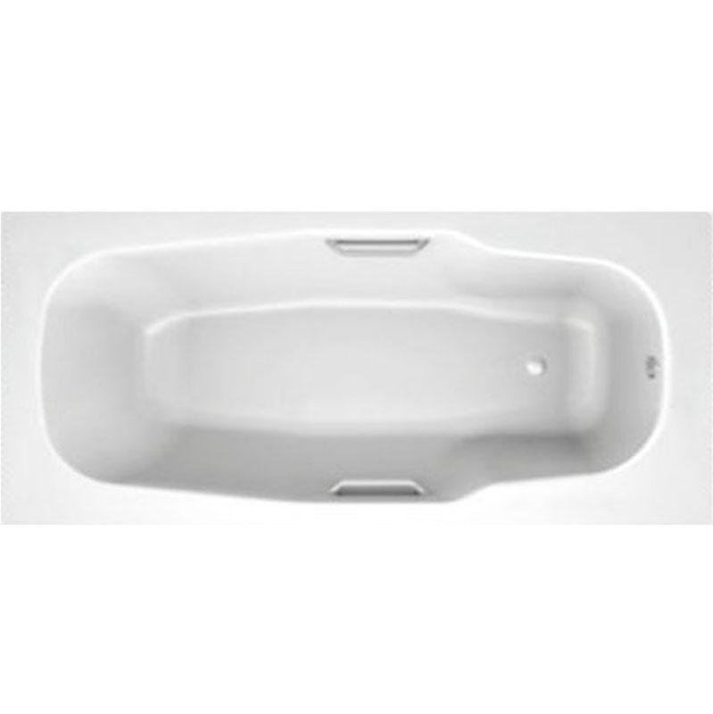Стальная ванна BLB Atlantica HG 170x80 B70J handles с отверстиями для ручек Белая стальная ванна 180х80 см blb atlantica b80a