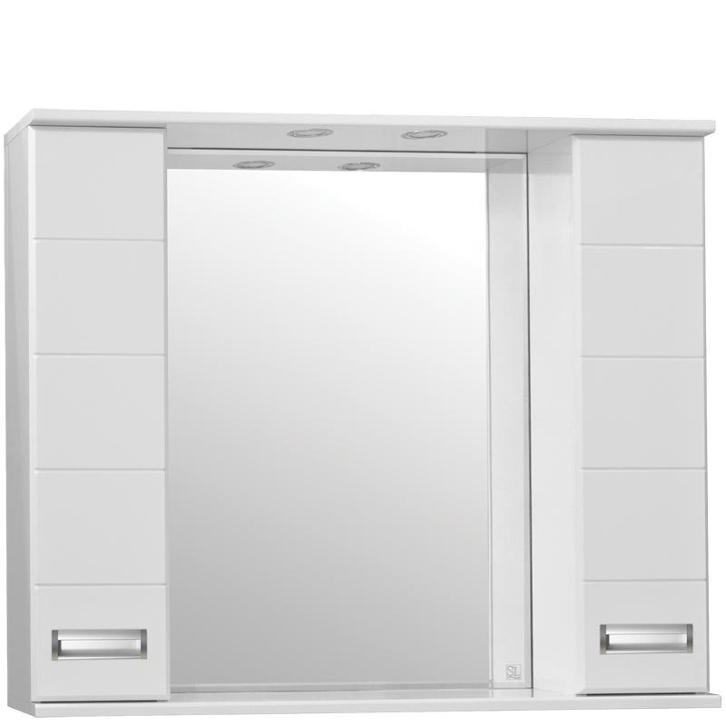 Зеркальный шкаф Style Line Ирис 100 С с подсветкой