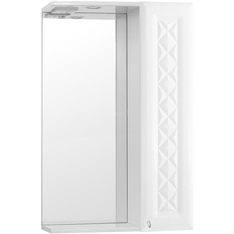 Зеркальный шкаф Style Line Канна 50 С Люкс с подсветкой - фото