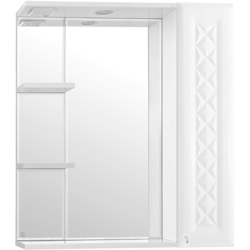 Зеркальный шкаф Style Line Канна 75 С Люкс с подсветкой