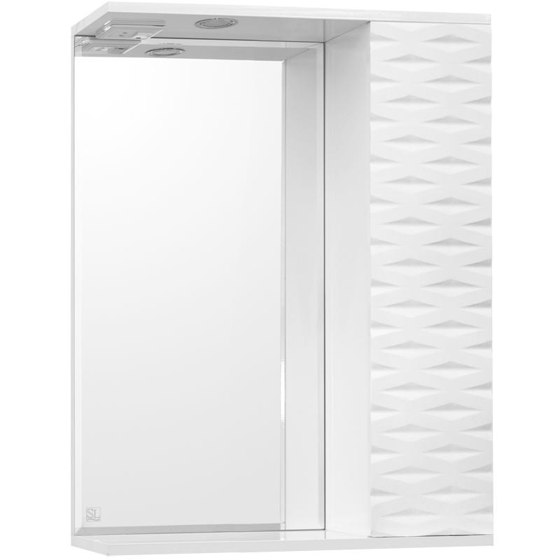 Зеркальный шкаф Style Line Папирус 60 С Люкс с подсветкой - фото