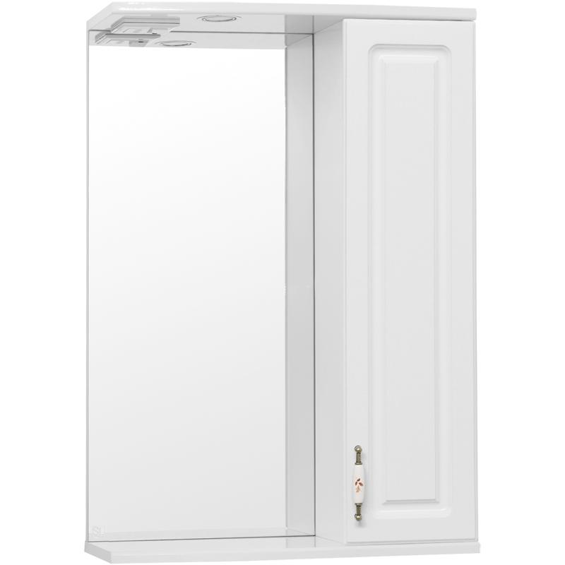 Зеркальный шкаф Style Line Олеандр 2 55 С с подсветкой - фото