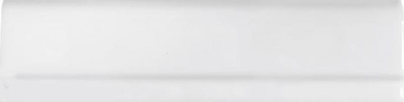 Керамическая плитка Cas Ceramica Cas Moldura Plana Blanco бордюр - фото
