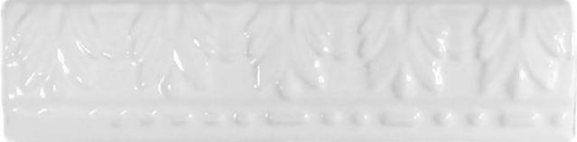 Керамическая плитка Cas Ceramica Cas Moldura Relieve Blanco бордюр - фото