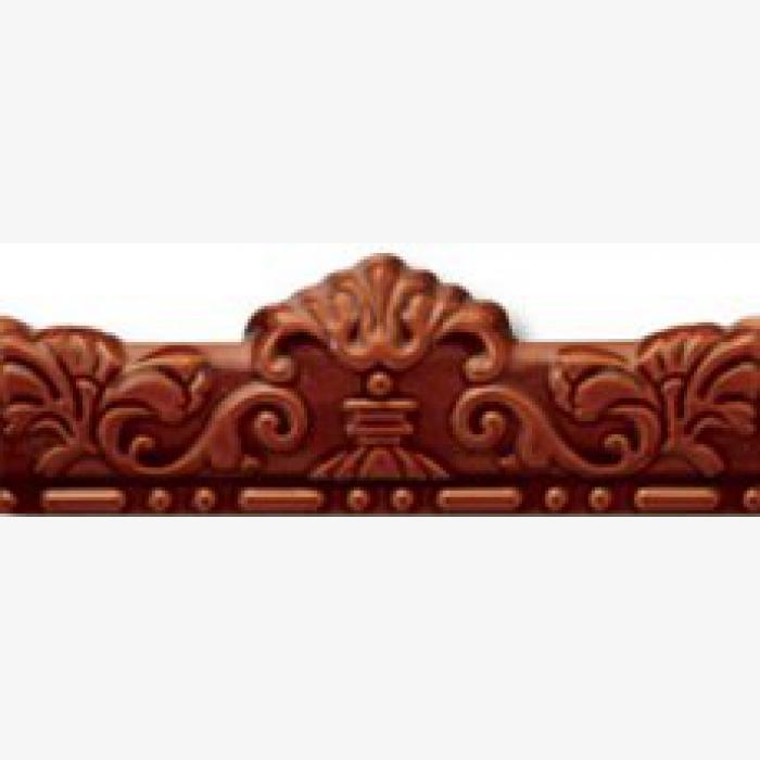 цена на Керамическая плитка Cas Ceramica Cas Mold Real Marron бордюр 7х20