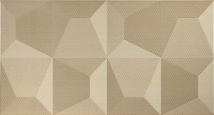 Керамическая плитка Fanal Cube Crema Relieve настенная