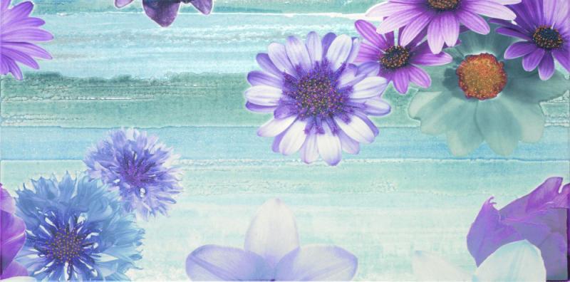 Керамический декор Fanal Irish Nacar flor 1  - фото