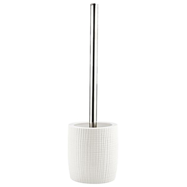Dinkel K-4627 БелыйАксессуары для ванной<br>Ершик для унитаза Wasser Kraft Dinkel K-4629 придаст интерьеру вашей ванной или туалетной комнаты незабываемую изысканность. Изделие выполнено из белоснежного матового фарфора и украшено изящным рисунком.<br>Размеры: диаметр: 10,5 см, высота: 36,5 см.<br>Материал: фарфор. Это благородная керамика, произведенная путем запекания при высокой температуре; после запекания на поверхность обязательно наносится глазурь. Изделия из фарфора обладают высокой прочностью, водонепроницаемостью, химической и термической стойкостью.<br>