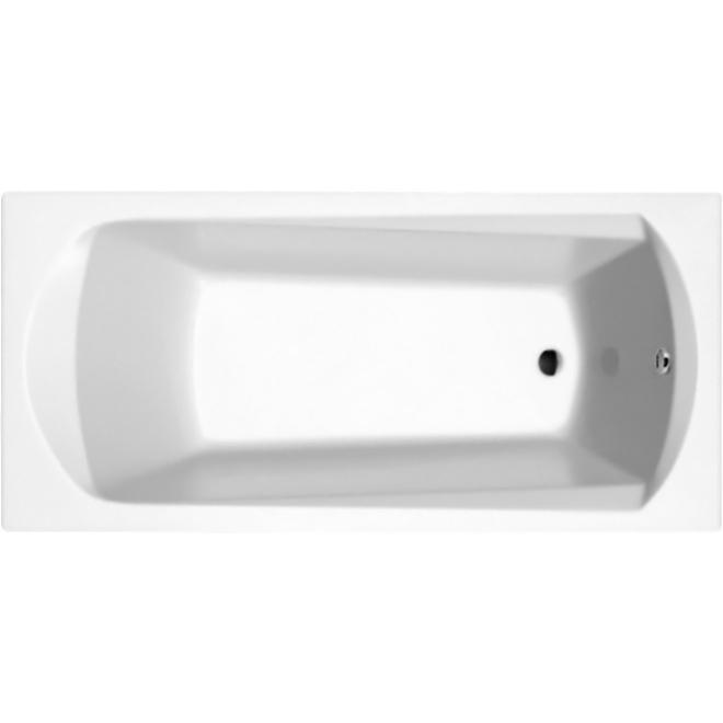 Domino &amp;#8206;Plus 170x75 БелаяВанны<br>Акриловая ванна Ravak Domino &amp;#8206;Plus 170x75 прямоугольная, с удобным наклоном спинки и с усиленным ровингом.<br><br>Материал: литой акрилат PMMA (Lucite, Англия).<br>Толщина акрила: 5 мм.<br>Прочность в сочетании с малым весом.<br>Эффективное звукопоглощение.<br>Акрил быстро нагревается и долго сохраняет тепло.<br>С первого прикосновения чувствуется тепло из-за низкой теплопроводности.<br><br>