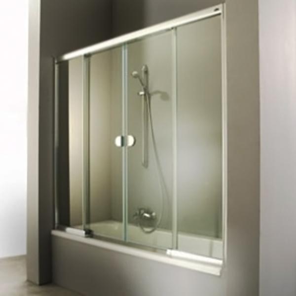 2002 180 400019.055.322 Профиль белый, стекло прозрачноеДушевые ограждения<br>Стеклянная шторка на ванну Huppe 2002 180 400019.055.322 с двумя раздвижными дверьми.<br><br>Витраж: прозрачный.<br>Цвет профиля: белый.<br>Материал витража: безосколочное ударопрочное стекло.<br>Материал профиля: прессованный алюминий.<br>Магнитный профиль для плотного закрывания дверей.<br><br>