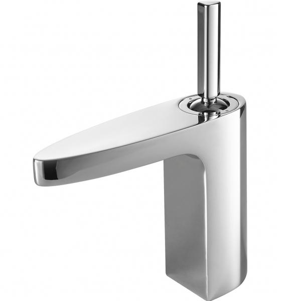 Spring F179113C ХромСмесители<br>Смеситель для раковины Bravat Spring F179113C однорычажный, низкий, для ванной комнаты.<br>Корпус хромированного смесителя выполнен из латуни, ручка - цинковая. <br>Керамический картридж Kerox 35 мм <br>Аэратор Neoperl<br>Гибкая подводка 450мм M10-G1/2 SS 2шт<br>Поток воды: 12L/мин 0.3 MPa<br>