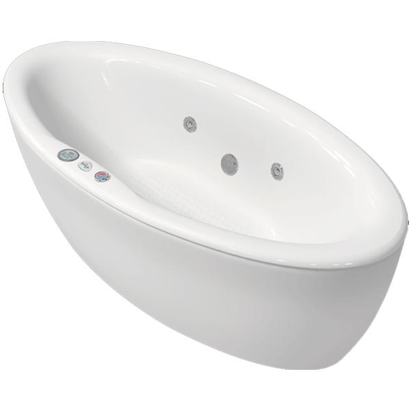 Катрин 185x90 с гидромассажемВанны<br>Акриловая ванна Bellrado Катрин 184,5х90,5х57 см овальной формы, армированная.<br>Ванна изготовлена из литьевого акрила, литой лист толщиной 5 мм, и усилена стекловолокном с полиэфирными смолами. Толщина стенок – 6-7 мм. Усиливающие дно и места крепления корпуса элементы, толщина – 22-24 мм. Лицевой слой – акрил ПММА, устойчив к царапинам, УФ лучам, коррозийному и химическому воздействию, долго сохраняет блеск.<br>Цвет чаши ванны: чистый холодный белый. <br>Ванна Катрин понравится любителям классического стиля. Модель этой формы может быть установлена в центре ванной комнаты.В данную комплектацию входит 5 гидромассажных джет. Расположение форсунок выверено с анатомической точки зрения. Джеты регулируются по направлению и силе массажной струи, а также по количеству воздуха (чем больше воздуха в струе, тем она шире и мощнее). Таким образом, гидромассаж можно настроить индивидуально. Благодаря креплению двигателя к подставке ванны с помощью амортизаторов, снижающих шум и вибрацию, гидромассаж работает практически беззвучно.<br>В комплекте поставки:<br>акриловая чаша ванны<br>стальной каркас – надежная конструкция, профиль 25х25, толщина 1,5 см, порошковое напыление, не поддается коррозии<br>слив-перелив Vega полуавтомат5 гидромассажных джет Sirem (Франция) с мощностью 900 Вт.<br>4 микроджет для спинного массажа (система Турбопул)<br>Уход: с использованием безабразивных мягких средств. <br>Данная ванна реставрируема (из ремонтнопригодного материала).Не допускается совместная установка аэромассажа и массажа спины!<br>