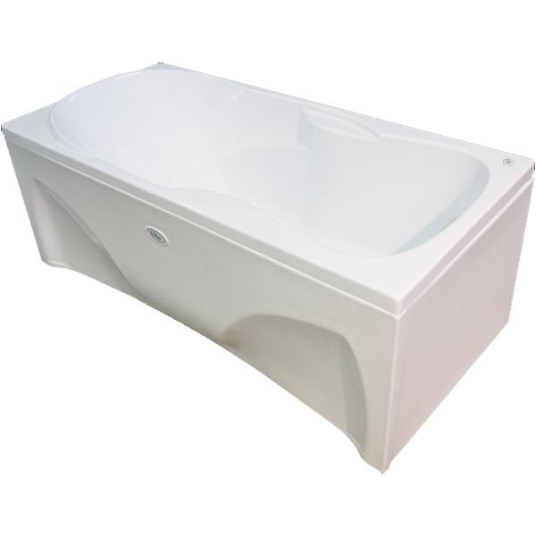 Симфония 180x85 без гидромассажаВанны<br>Акриловая ванна Bellrado Симфония 180х85х73 см прямоугольной формы, армированная.<br>Ванна изготовлена из литьевого акрила, литой лист толщиной 5 мм, и усилена стекловолокном с полиэфирными смолами. Толщина стенок – 6-7 мм. Усиливающие дно и места крепления корпуса элементы, толщина – 22-24 мм. Лицевой слой – акрил ПММА, устойчив к царапинам, УФ лучам, коррозийному и химическому воздействию, долго сохраняет блеск.<br>Ванна Симфония прекрасно подойдет для ванной комнаты стандартного размера.<br>В комплекте поставки:<br>акриловая чаша ванны<br>стальной каркас – надежная конструкция, профиль 25х25, толщина 1,5 см, порошковое напыление, не поддается коррозии<br>слив-перелив Vega полуавтомат<br>Уход: с использованием безабразивных мягких средств. <br>Данная ванна реставрируема (из ремонтнопригодного материала).<br>