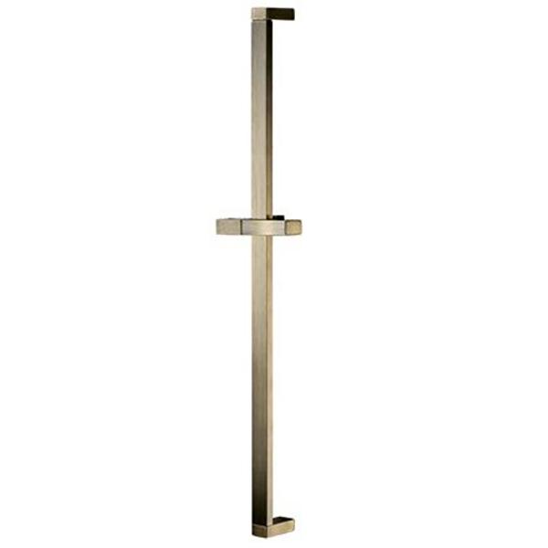 Exter A048 БронзаДушевые гарнитуры<br>Стойка для душа Wasser Kraft Exter A048.<br>В комплекте поставки:<br>Регулируемый держатель лейки<br>Набор для монтажа<br>Размер: 6,7x13,5x78,8 см.<br>Материал: нержавеющая сталь.<br>