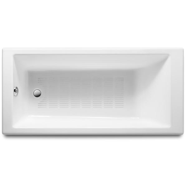 Tampa 170x80 233850000 с противоскользящим покрытиемВанны<br>Чугунная ванна Roca Tampa 170x80 233850000 прямоугольная с противоскользящим покрытием.<br>Ванна выполнена из прочного чугунного сплава и покрыта эмалью на основе титана. Такая эмаль считается наиболее качественной, не желтеет со временем.<br>На дне ванны есть антискользящее покрытие (небольшие насечки, препятствующие скольжению -  Antislip).<br>