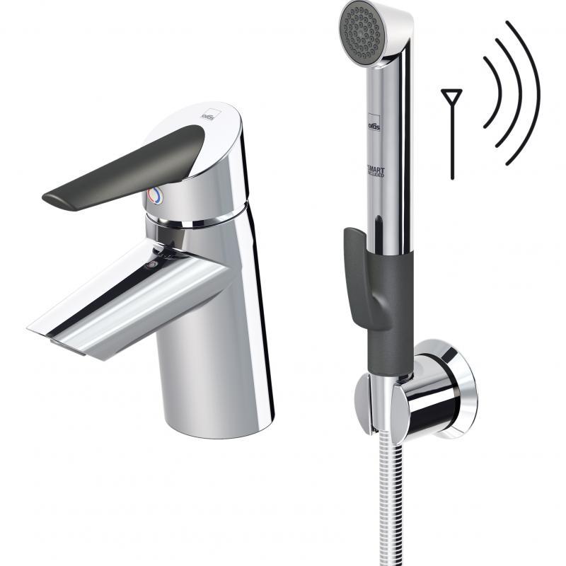 Optima 2713F ХромСмесители<br>Смеситель для раковины Oras Optima 2713F с гигиеническим душем.<br>Особенности:<br>Кнопка-ограничитель для установки комфортной температуры воды,<br>Термостатический блок управления,<br>Гигиенический душ Smart Bidetta.<br>