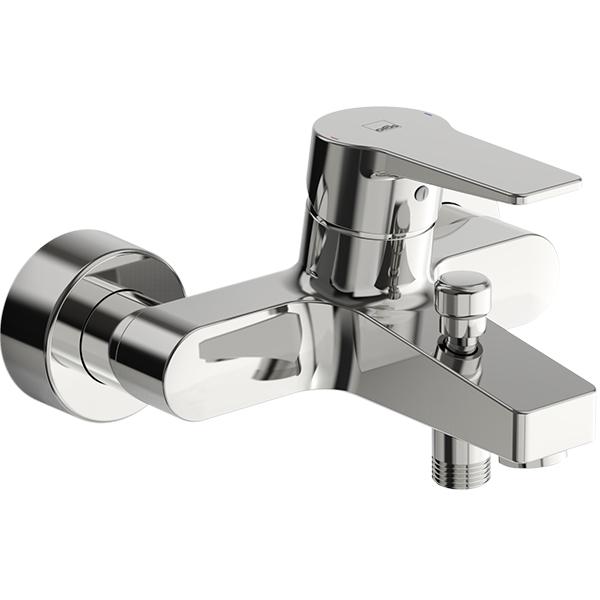 Twista 3840U ХромСмесители<br>Смеситель для ванны и душа Oras Twista 3840U.<br>Особенности:<br>Функция ограничения температуры и напора воды,<br>Переключатель для душа.<br>