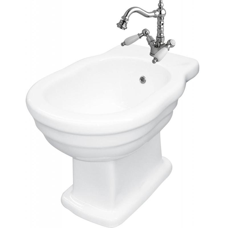 Boheme BB115B БелоеБиде<br> Биде напольное BelBagno Boheme BB115B. Дизайн элегантный в стиле ретро, также подойдет и в ванную комнату, оформленную в классическом стиле, прованс или кантри. <br><br>Стойкость цвета на долгие годы.<br>Гладкая поверхность.<br> В комплекте поставки биде.<br>