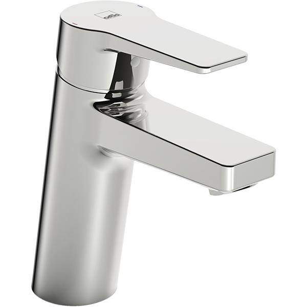 Twista 3806F ХромСмесители<br>Смеситель для раковины Oras Twista 3806F.<br>Особенности:<br>Функция ограничения температуры и напора воды,<br>Цельная рукоятка.<br>