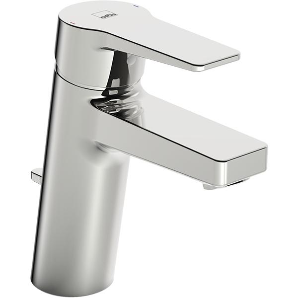 Twista 3805F ХромСмесители<br>Смеситель для раковины Oras Twista 3805F.<br>Особенности:<br>Функция ограничения температуры и напора воды,<br>Рычажный донный клапан,<br>Цельная рукоятка.<br>