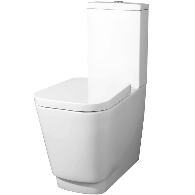 Romina P trap BB121CP без сиденьяУнитазы<br> Унитаз-компакт BelBagno Romina P trap BB121CP напольный в стиле минимализм выглядит эффектно и свежо, обеспечит простор и функциональность ванной комнаты.<br> Горизонтальный выпуск P trap.<br>Слив по всему периметру чаши.<br>Стойкость цвета на долгие годы.<br>Гладкая поверхность.<br> В комплекте поставки чаша унитаза.<br>