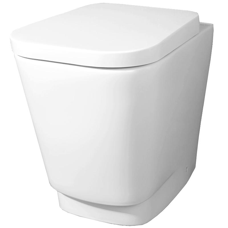 Romina P trap BB121CB без сиденьяУнитазы<br> Унитаз-компакт BelBagno Romina P trap BB121CB приставной в стиле минимализм выглядит эффектно и свежо, обеспечит простор и функциональность ванной комнаты.<br> Горизонтальный выпуск P trap.<br>Слив по всему периметру чаши.<br>Стойкость цвета на долгие годы.<br>Гладкая поверхность.<br> В комплекте поставки чаша унитаза.<br>