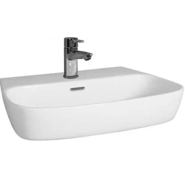 Romina 60 BB121L БелаяРаковины<br> Раковина BelBagno Romina BB121L  в стиле минимализм выглядит эффектно и свежо, обеспечит простор и функциональность ванной комнаты.<br>Стойкость цвета на долгие годы.<br>Гладкая поверхность.<br> В комплекте поставки чаша раковины. <br>С переливным отверстием.<br>