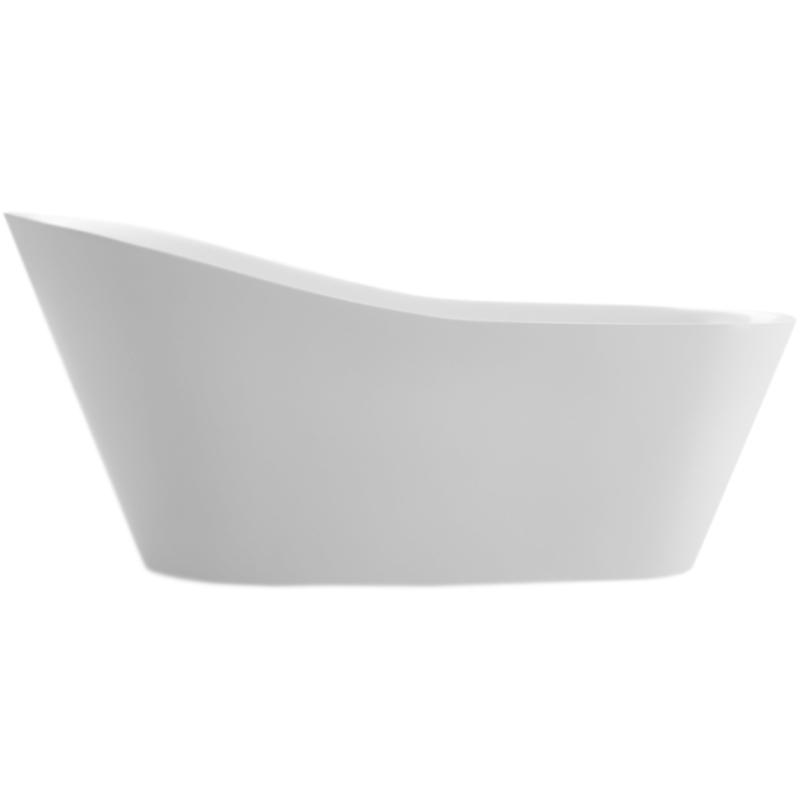 BB63 180x82 без гидромассажаВанны<br>Акриловая ванна BelBagno BB63-1800 180x82 отдельностоящая, овальная, с увеличенным торцевым бортом, с удобным наклоном для спины.<br>Материал: высококачественный листовой акрил.<br>Прочность в сочетании с малым весом.<br>Эффективное звукопоглощение.<br>Неприхотливость в уходе.<br>Гладкая и не скользкая поверхность.<br>Акрил быстро нагревается и долго сохраняет тепло.<br>С первого прикосновения чувствуется тепло из-за низкой теплопроводности.<br>Регулировка ножек для компенсации неровностей поверхности пола.<br>Расположение слива: в ногах.<br>Диаметр сливного отверстия: 5 см.<br><br><br>В комплекте поставки:<br>чаша ванны; <br>комплект ножек;<br>слив-перелив цвета хром.<br><br>