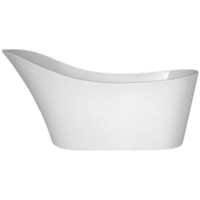 BB64 170x74 без гидромассажаВанны<br>Акриловая ванна BelBagno BB64-1700 170x74 отдельностоящая, овальная, с увеличенным торцевым бортом, с удобным наклоном для спины.<br>Материал: высококачественный листовой акрил.<br>Прочность в сочетании с малым весом.<br>Эффективное звукопоглощение.<br>Неприхотливость в уходе.<br>Гладкая и не скользкая поверхность.<br>Акрил быстро нагревается и долго сохраняет тепло.<br>С первого прикосновения чувствуется тепло из-за низкой теплопроводности.<br>Регулировка ножек для компенсации неровностей поверхности пола.<br>Расположение слива: в ногах.<br>Диаметр сливного отверстия: 5 см.<br><br><br>В комплекте поставки:<br>чаша ванны; <br>комплект ножек;<br>слив-перелив цвета хром.<br><br>