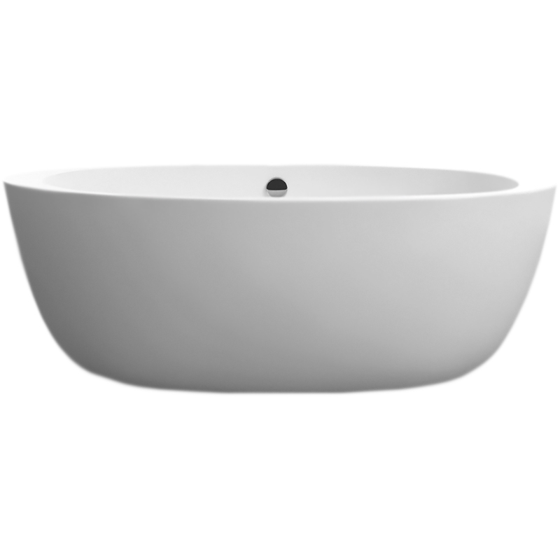 BB67 170x90 без гидромассажаВанны<br>Акриловая ванна BelBagno BB67-1700 170x90 отдельностоящая, овальная, с широкими бортиками, с удобным наклоном для спины с двух сторон.<br>Материал: высококачественный листовой акрил.<br>Прочность в сочетании с малым весом.<br>Эффективное звукопоглощение.<br>Неприхотливость в уходе.<br>Гладкая и не скользкая поверхность.<br>Акрил быстро нагревается и долго сохраняет тепло.<br>С первого прикосновения чувствуется тепло из-за низкой теплопроводности.<br>Регулировка ножек для компенсации неровностей поверхности пола.<br>Расположение слива: в центре.<br>Диаметр сливного отверстия: 5 см.<br><br><br>В комплекте поставки:<br>чаша ванны; <br>комплект ножек;<br>слив-перелив цвета хром.<br><br>