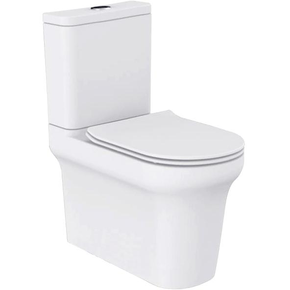 Vella P trap BB829CP без сиденьяУнитазы<br> Унитаз моноблок BelBagno Vella P trap BB829CP напольный подойдет для ванной комнаты  в современном стиле, отличительной чертой которой является комфорт, лёгкость и простота.<br> Горизонтальный выпуск P trap.<br>Слив по всему периметру чаши.<br>Стойкость цвета на долгие годы.<br>Гладкая поверхность.<br> В комплекте поставки чаша унитаза.<br>