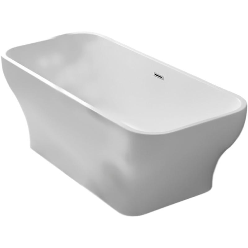 BB73-1700 170x75 без гидромассажаВанны<br>Акриловая ванна BelBagno BB73-1700 170x75 отдельностоящая, прямоугольная, с удобным наклоном для спины с двух сторон.<br>Материал: высококачественный листовой акрил.<br>Прочность в сочетании с малым весом.<br>Эффективное звукопоглощение.<br>Неприхотливость в уходе.<br>Гладкая и не скользкая поверхность.<br>Акрил быстро нагревается и долго сохраняет тепло.<br>С первого прикосновения чувствуется тепло из-за низкой теплопроводности.<br>Регулировка ножек для компенсации неровностей поверхности пола.<br>Расположение слива: в центре.<br>Диаметр сливного отверстия: 5 см.<br>Вес: 48 кг.<br><br>В комплекте поставки:<br>чаша ванны; <br>комплект ножек;<br>слив-перелив цвета хром.<br><br>